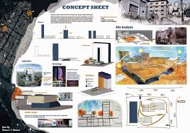 Design Sheets Of Architecture Students Concept Sheet Site Analysis Presentation Board Designed