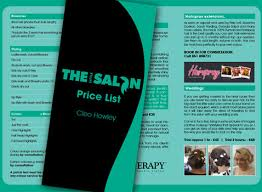 Alpha Design - The Little Salon Price List