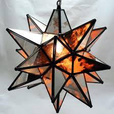 full image for moravian star pendant light antique mirrored glass 19 larger image moravian star pendant