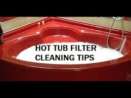 hot tub filter cleaning