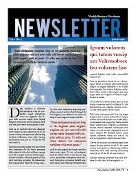 sample company newsletter sample company newsletter