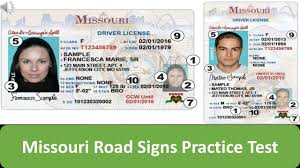 Test Youtube Signs Practice Missouri Road -