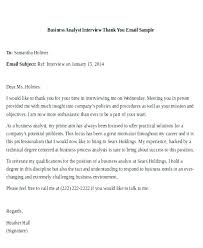 Reply To Interview Invitation Email Sample Interview Thank You Email Template