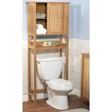 white wooden bathroom furniture. Bathroom. Brown Wooden Bathroom Cabinet And Shelf Above White Toilet Bowl On Laminate Flooring. Furniture L