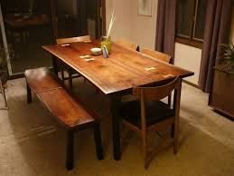 Mid Century Modern Dining Tables CustomMadecom - Walnut dining room furniture