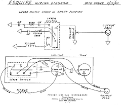 help esquire wiring mod esquire wiring mod that is not the exact way fender wired their esquires here is the original schematic that fender used