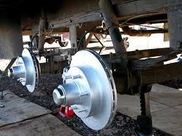 titan hydraulic over electric trailer disc brake conversion review titan trailer disc brakes installation