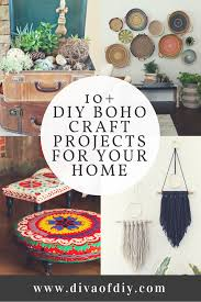 boho decor 10 diy boho craft projects for your home