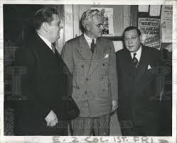1937 Press Photo Alderman Joe Gillespie Don Forsyth Democratic ...