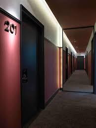 hotel hallway lighting. chess hotel paris by gilles u0026 boissier hallway lighting