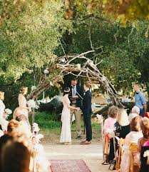 aisle style rustic wooden arch aisle decor inspiration