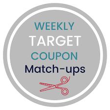 target weekly coupon match ups