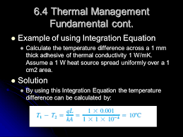 6 4 thermal management fundamental cont