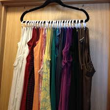 hang accessories and tank tops