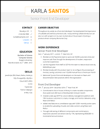 Summary is a section that can be read by the recruiter instead of scanning the whole paper. 3 Front End Developer Resume Samples For 2021
