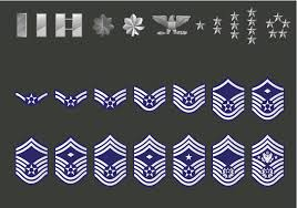 Usaf Rank Chart History Of Air Force Enlisted Insignia Rank