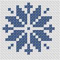 Легкий рисунок для вышивки крестом