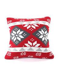 <b>Подушка с орнаментом</b> Christmas story, 45х45 см <b>EnjoyMe</b> ...