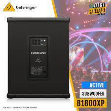 Speaker Subwoofer 18 inch Aktif Behringer B1800XP 3000 watt