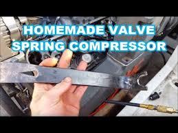 Homemade <b>VALVE SPRING COMPRESSOR</b> TOOL - Remove ...