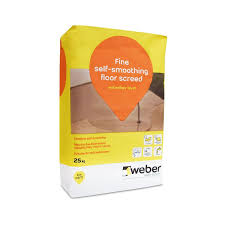 Self Leveling Coverage Chart Weberfloor Level Self Smoothing Concrete Floor Compound