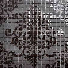 black puzzle crystal mosaic tiles h059 2