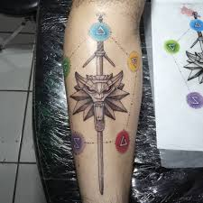 Images About Thewitchertattoo Tag On Instagram Photos Videos