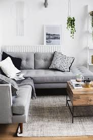 7 gray living rooms that match the cold