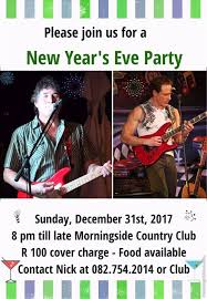 new year s eve party at morningside country club on sunday december 31st