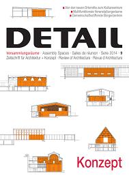 Detail 092014 Konzept Versammlungsräume Assembly Spaces Salles