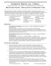 Nurse Resume Examples Rn New Grad Registered Australia Sample