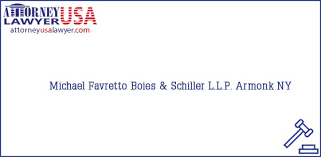 Phone and Address of Michael Favretto, Boies & Schiller L.L.P., Armonk, NY,  USA | Find your Attorney / Lawyer in USA Quickly - AttorneyUsaLawyer.com