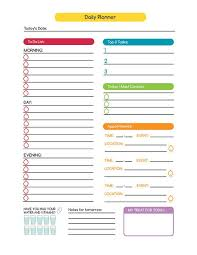 Free Printable Daily Business Planner Download Them Or Print