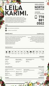Floral Designer Resume Dissecting The Good And Bad Resume In A Creative Field Emily 1