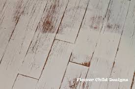 white distressed wood floor flower child designs oh yes i did paint my wood floors