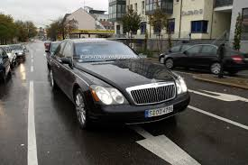 SPIED: Maybach 57 and 62 to Receive a Minor Nip and Tuck