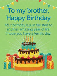 Happy Birthday Brother Wishes Birthday Quotes For Big And Little Bro