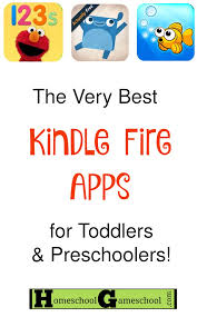 the best kindle fire apps for toddlers and preers