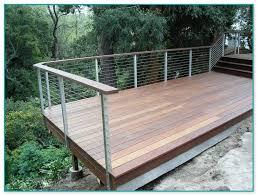 metal deck railing posts