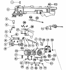 trainrepairparts com over 4 000 american flyer and lionel repair order parts by viewing exploded diagrams for american flyer locos
