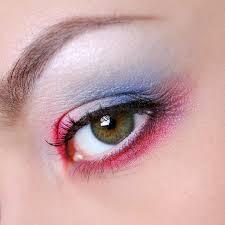 eyes makeup eye shadow up woman macro