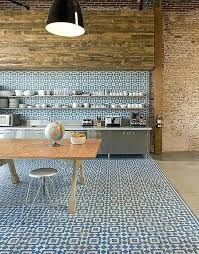kitchen floor tile patterns 4 in white and blue squares tiles