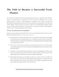 Event Planning Services Agreement Event Management Contract Template