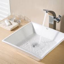 Square Sinks Bathroom Ceramic Sink Kraususacom