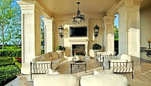 covered patio with fireplace fantastic covered patio with fireplace in modern home remodel ideas with covered