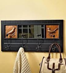 Coat Hook Rack With Mirror Wooden Wire Hooks Coat Rack Coat hooks wall mounted Hook rack and 17
