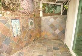 colorful patio tile murals