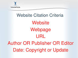 921 Find And Cite A Website Source Ppt Download