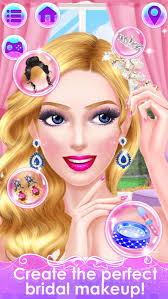 bridal makeover wedding beauty boutique s makeup and dressup salon games