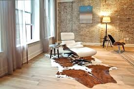 rawhide rug carpet rugs archives the wooden houses faux cowhide rug with beauty and flexibility materials